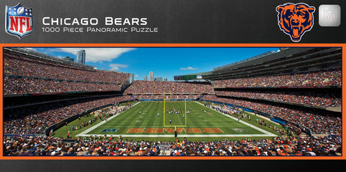 Chicago Bears Panoramic Jigsaw Puzzle