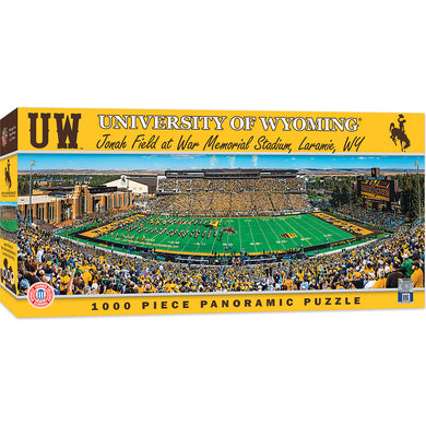 Wyoming Cowboys Football Panoramic Puzzle
