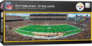 Pittsburgh Steelers Panoramic Puzzle