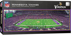 Minnesota Vikings Panoramic Puzzle