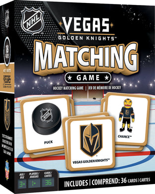 Vegas Golden Knights NHL Matching Game