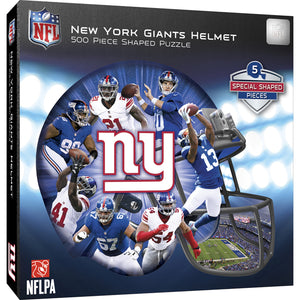 New York Giants Helmet Puzzle