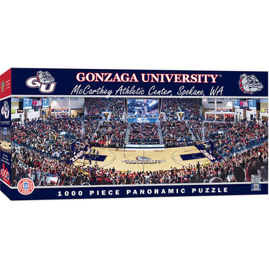 Gonzaga Bulldogs Basketball Panoramic Puzzle