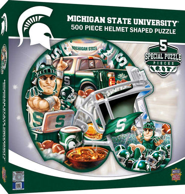 Michigan State Spartans Football Puzzle