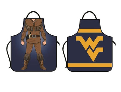 West Virginia Mountaineers Double Sided Game Day Apron