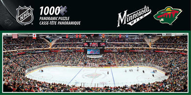 Minnesota Wild Panoramic Puzzle