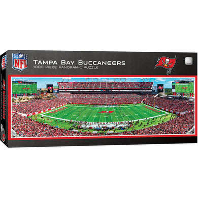 Tampa Bay Buccaneers Panoramic Puzzle