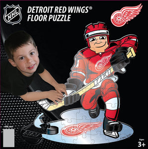 Detroit Red Wings Floor Puzzles