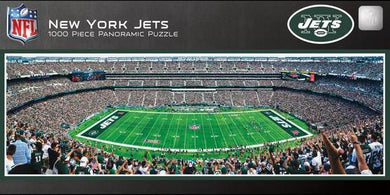 New York Jets Panoramic Puzzle