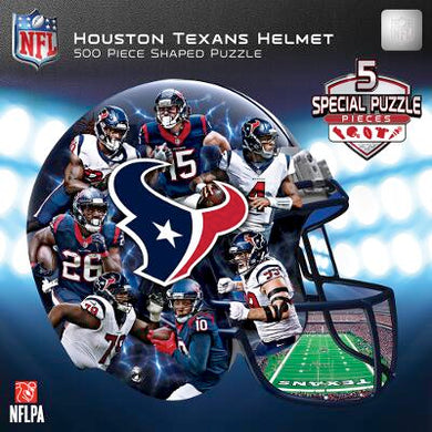 Houston Texans Helmet Puzzle