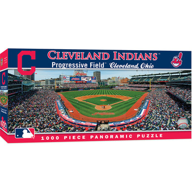 Cleveland Indians Panoramic Puzzle