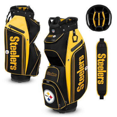 Pittsburgh Steelers Bucket Cooler III Cart Golf Bag