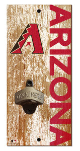 Arizona Diamondbacks Distressed Bottle Opener