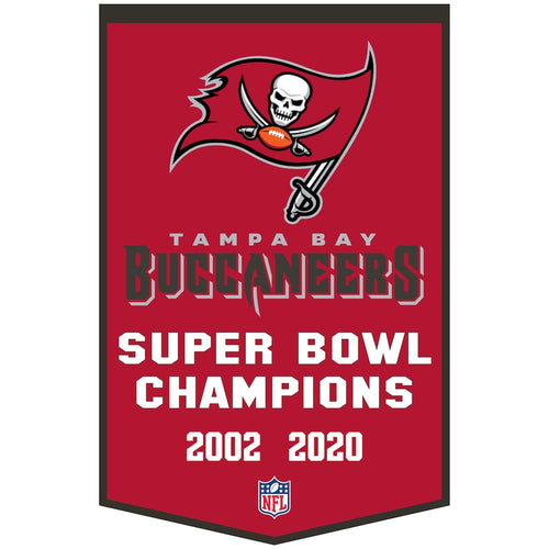 Tampa Bay Buccaneers Dynasty Champions Wool Banner
