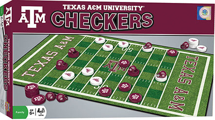 Texas A&M Aggies Checkers