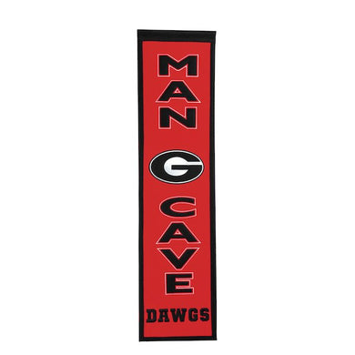 Georgia Bulldogs Man Cave Banner - 8