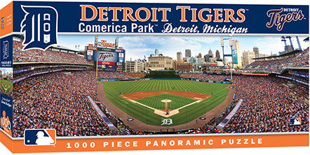 Detroit Tigers Panoramic Puzzle