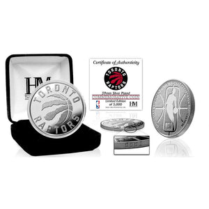 Toronto Raptors Silver Mint Coin