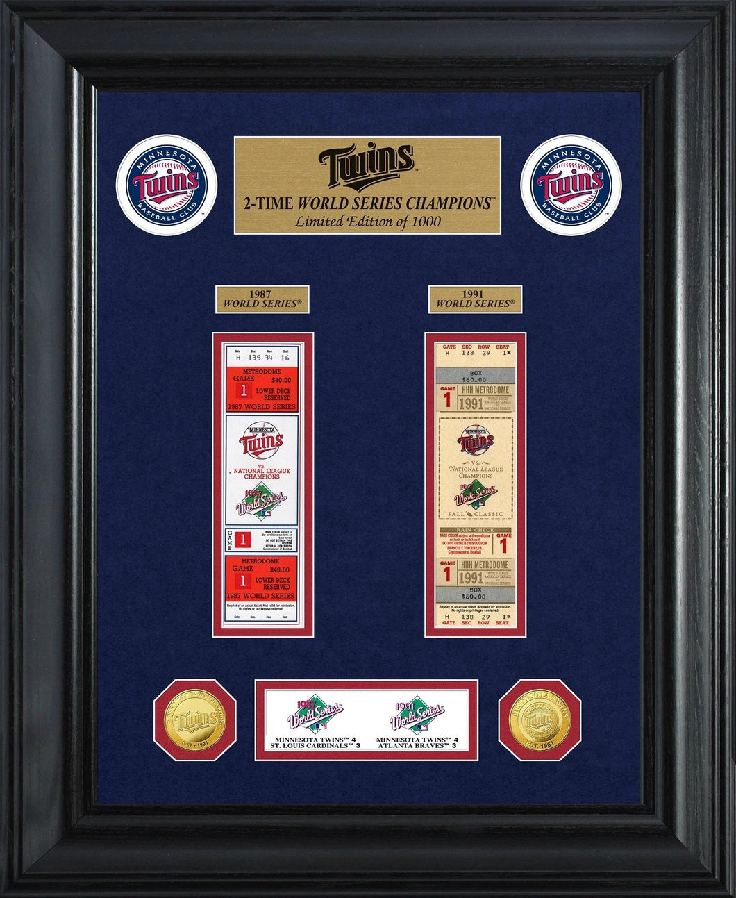 Minnesota Twins world series champions