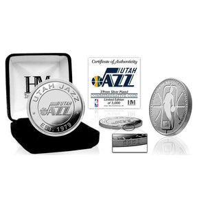 Utah Jazz Silver Mint Coin