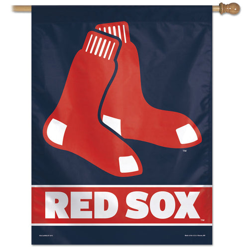 Boston Red Sox Vertical Flag - 27