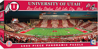 Utah Utes Football Panoramic Puzzle