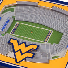 West Virginia Mountaineers 3D StadiumViews Coaster Set
