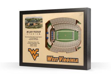 wvu football, milan puskar stadium at mountaineer field