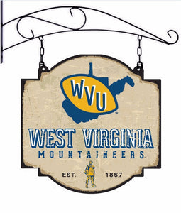 wvu football, wvu basketball, wvu tavern sign