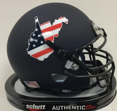 West Virginia Mountaineers 2019 Military Appreciation Mini Helmet