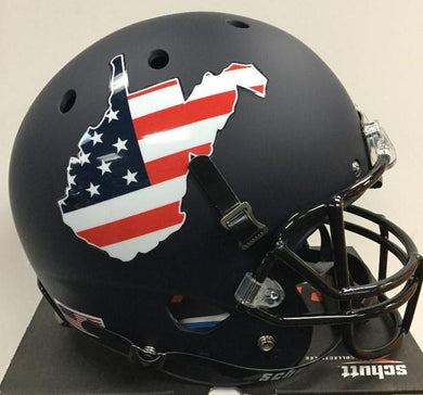West Virginia Mountaineers Military Appreciation Full Size Helmet