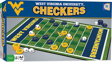 West Virginia Mountaineers Checkers