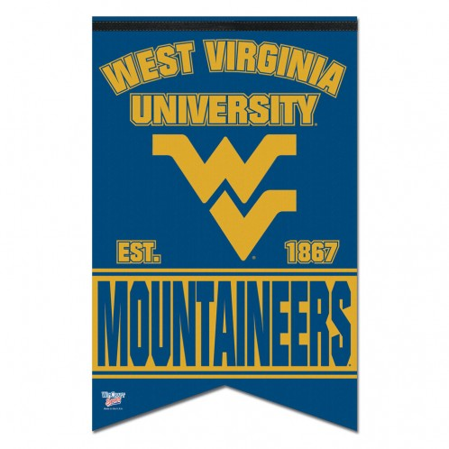 wvu football, wvu basketball, wvu premium pennant