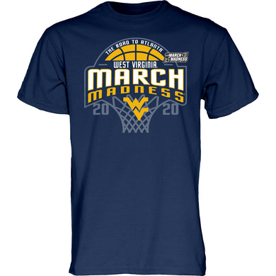 West Virginia Mountaineers Basketball March Madness Shirt