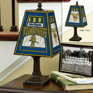 wvu football, wvu basketball, wvu lamp
