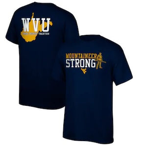West Virginia Mountaineers 2020 Official Fan T-Shirt