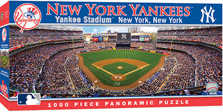 New York Yankees panoramic puzzle, new york yankees puzzle