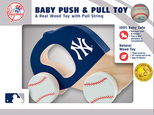new york yankees toy, new york yankees push and pull toy