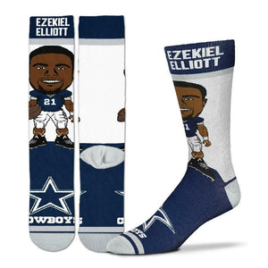 Ezekiel Elliott Dallas Cowboys Socks