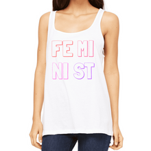 Load image into Gallery viewer, Feminist Rainbow - Feminist Tank-Feminist Apparel, Feminist Clothing, Feminist Vest-The Spark Company-The Spark Company