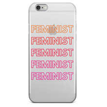 Load image into Gallery viewer, Retro Feminist Phone Case - Feminist Gift-Feminist Apparel, Feminist Gift, Feminist Phone Case-The Spark Company-The Spark Company