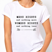 Load image into Gallery viewer, Women's Rights - Feminist T Shirt-Feminist Apparel, Feminist Clothing, Feminist T Shirt-The Spark Company-The Spark Company