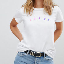 Load image into Gallery viewer, Minimalist Bisexual Pride - LGBT Pride T-Shirt