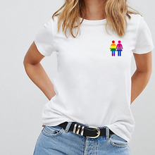 Load image into Gallery viewer, Holding Hands, Gay / Bisexual LGBTQ+ Pride T-Shirt