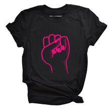 Load image into Gallery viewer, Feminist Fist - Feminist T Shirt