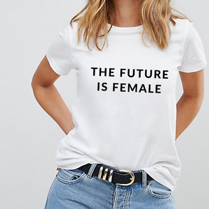 The Future is Female Classic - Feminist Shirt-Feminist Apparel, Feminist Clothing, Feminist T Shirt-The Spark Company-The Spark Company