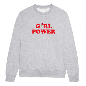 Girl Power Rose Feminist Sweatshirt
