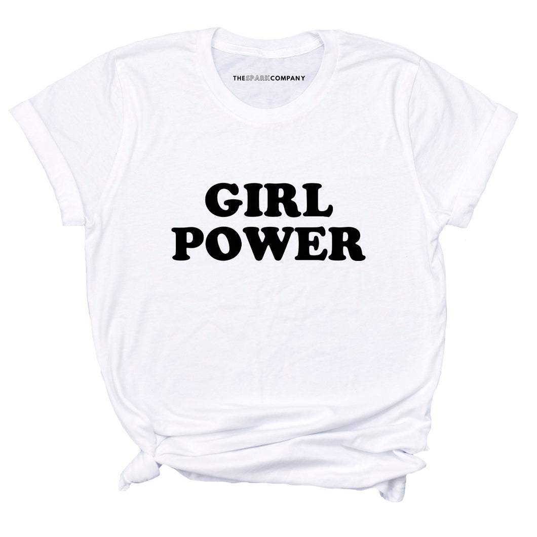 Girl Power Classic - Feminist T Shirt