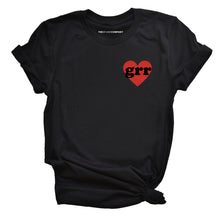 Load image into Gallery viewer, Embroidered Feminist T Shirt - Grr Heart