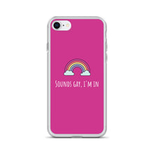 Load image into Gallery viewer, Sounds Gay I'm In - LGBT Phone Case, LGBT Gift